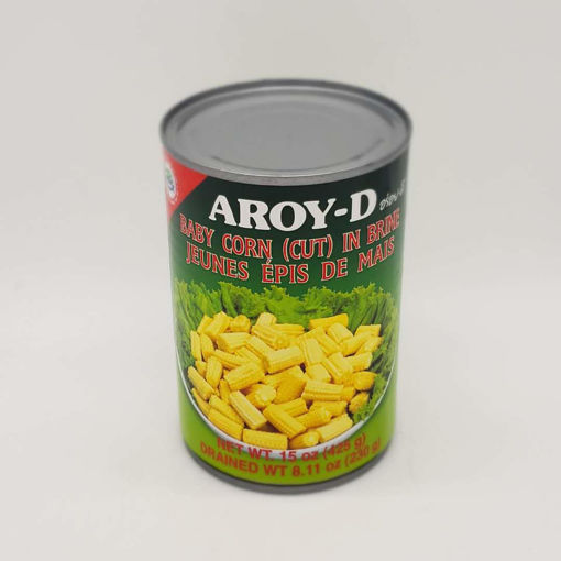 Picture of AROY-D BABY CORN CUT 425G