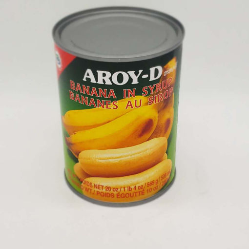 Picture of AROY D BANANA IN SYRUP 565ML