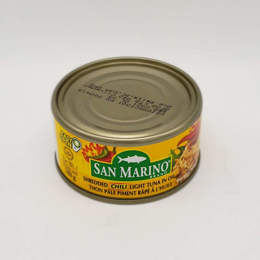 Picture of SAN MARINO SHREDDED CHILI LIGHT TUNA IN OIL 180G