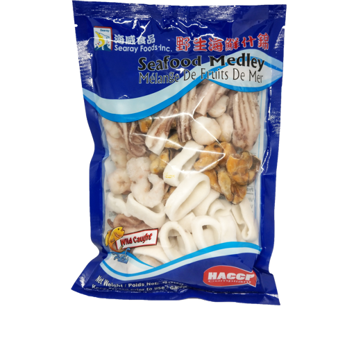 Picture of SEARAY FOODS SEAFOOD MEDLEY 400G