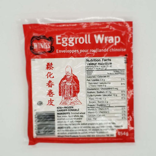 Picture of WINGS EGGROLL WRAP 454G