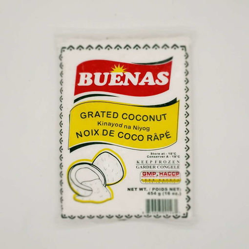 Picture of BUENAS FROZEN GRATED COCONUT 454G