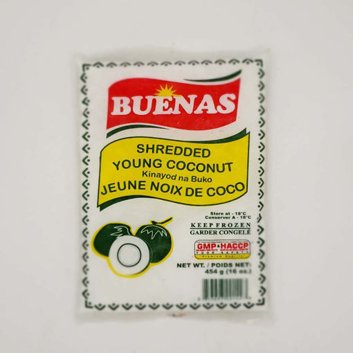 Picture of BUENAS FROZEN SHREDDED YOUNG COCONUT 454G