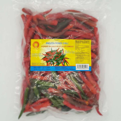 Picture of SUN BRAND FROZEN MIXED CHILI 500G