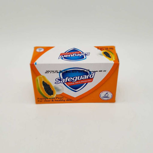 Picture of SAFEGUARD PAPAYA WITH PEARL SOAP