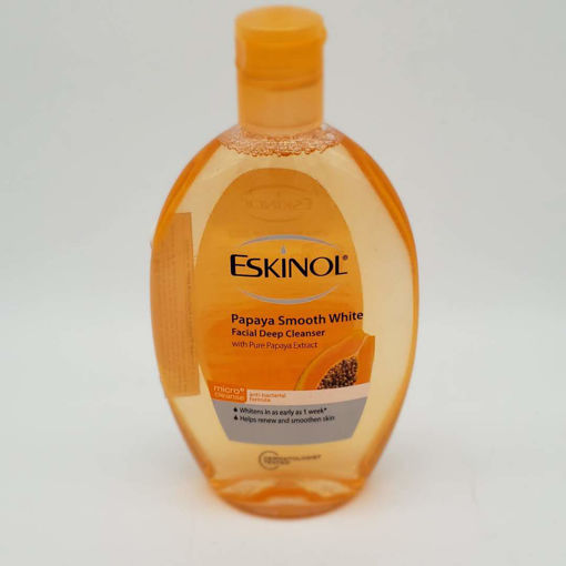 Picture of ESKINOL PAPAYA DEEP FACIAL CLEANSER 255ML