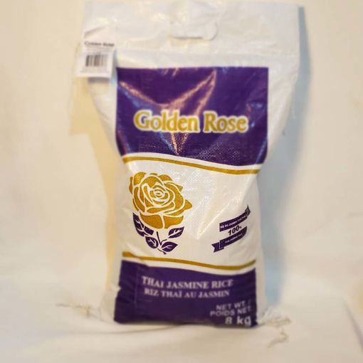 Picture of GOLDEN ROSE THAI JASMINE RICE 8 KG 金玫瑰泰国茉莉香米