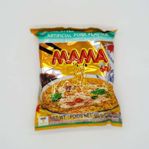 Picture of MAMA INSTANT NOODLE PORK FLAVOUR 60G