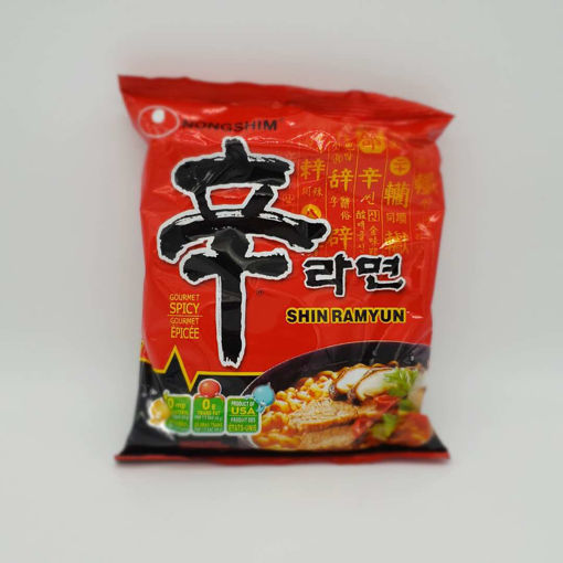 Picture of NONGSHIM SHIN RAMYUN HOT & SPICY 120G
