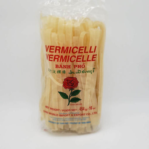 Picture of ROSE RICE VERMICELLI 10MM WIDE 454G