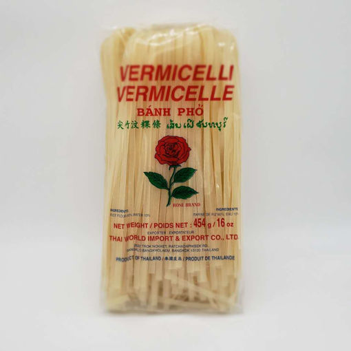 Picture of ROSE RICE VERMICELLI 5MM WIDE 454G
