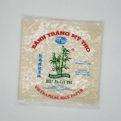 Picture of VIETNAMESE RICE PAPER SQUARE 340G