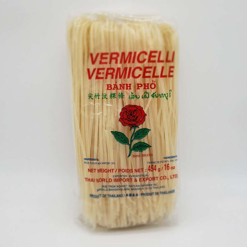Picture of ROSE RICE VERMICELLI 2MM WIDE 454G