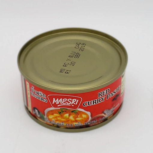 Picture of MAESRI RED CURRY PASTE 114G
