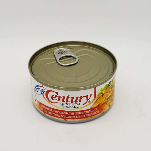 Picture of CENTURY FLAKED LIGHT TUNA CALDERETA STYLE IN SPICY TOMATO SAUCE 180G