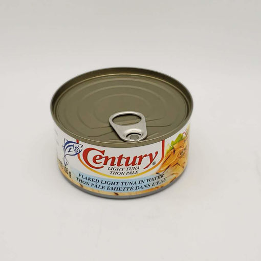 Picture of CENTURY FLAKED LIGHT TUNA IN WATER 180G