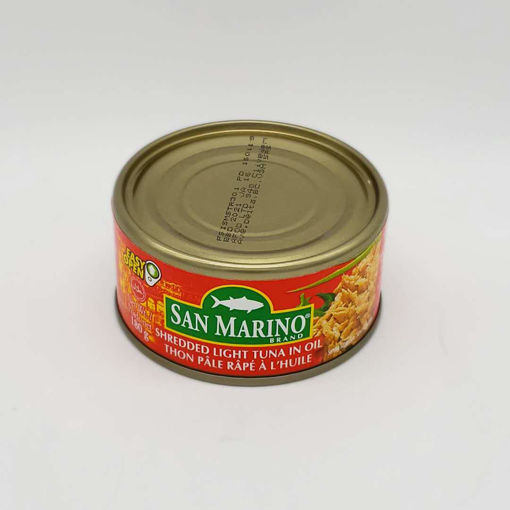 Picture of SM SHREDDED LIGHT TUNA IN OIL 180G
