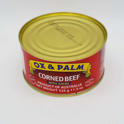 Picture of OX & PALM CORNED BEEF 326G