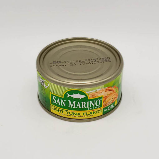 Picture of SAN MARINO LIGHT TUNA FLAKES IN OIL 180G