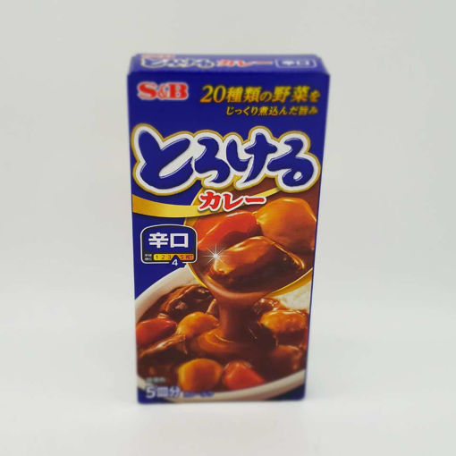 Picture of S&B HOT CURRY SAUCE 90G