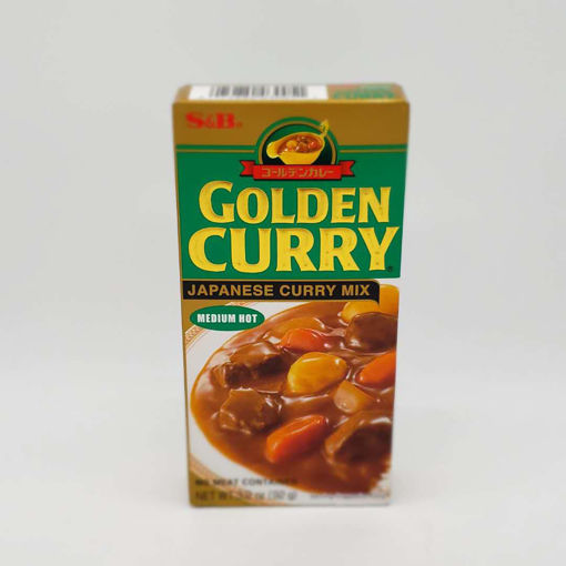 Picture of SB GOLDEN CURRY MEDIUM HOT 92G